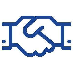 Beratung Handshake